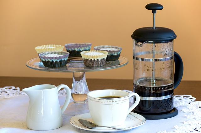 muffiny s kávovarem