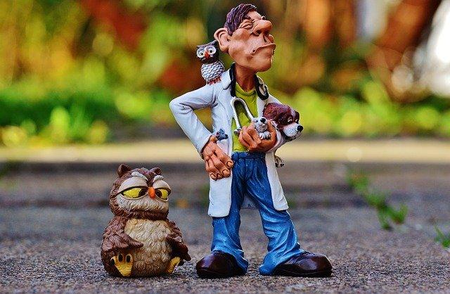 veterinář figurka