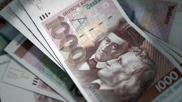 německé bankovky