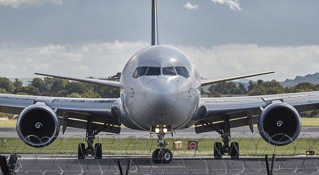 letadlo po příletu