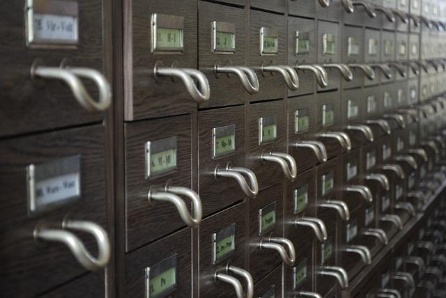 kancelářský archiv