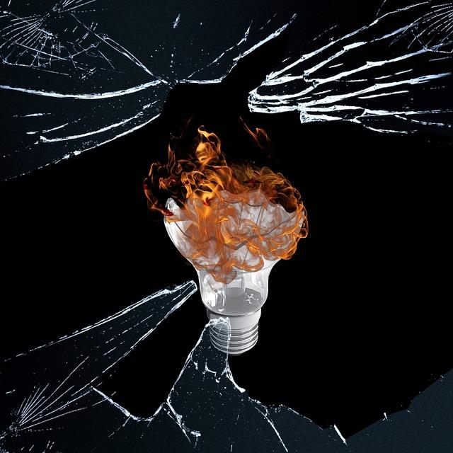 žárovka za sklem