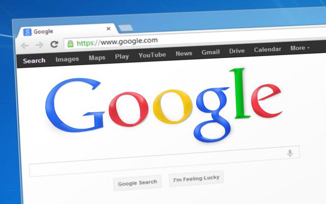 vyhledávání na google