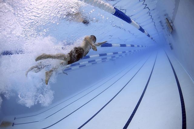 bazén na závody