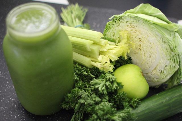 zeleninová šťáva