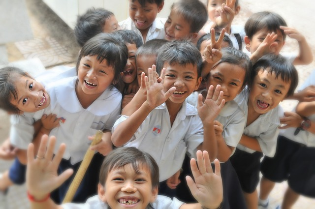 asijský školáci