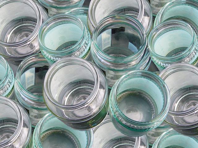 sklenice na klíčení