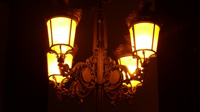 lampy na ulici