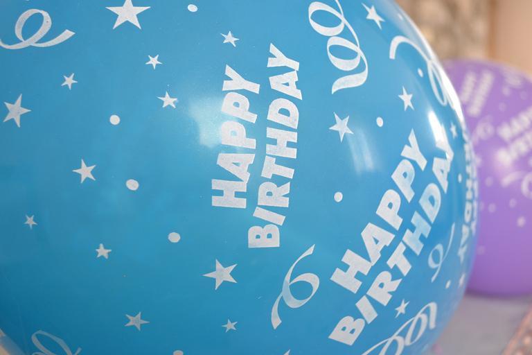 narozeninový balonek