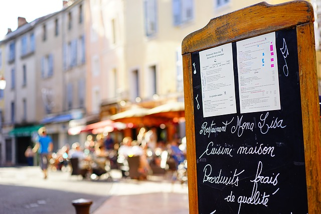 restaurace ve Francii
